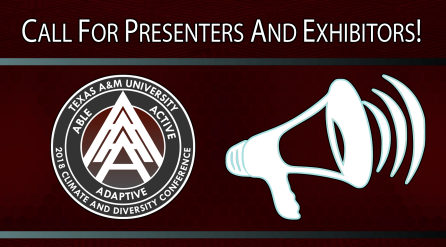 Call for Presenters and Exhibitors