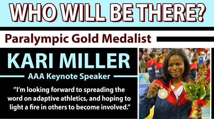 Who Will Be There? Paralympian Kari Miller