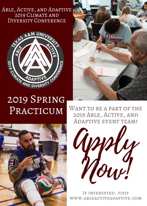 2019 Spring Practicum Flyer